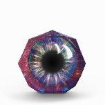 Tesla's Eye Fractal Design Acrylic Award
