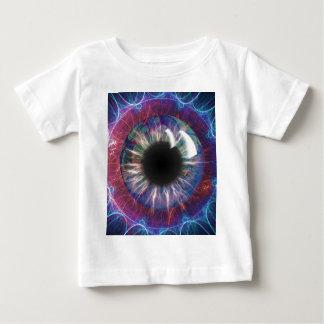 Tesla's Eye Fractal Design Baby T-Shirt