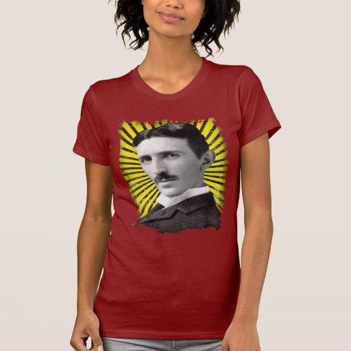 Tesla's light t shirt