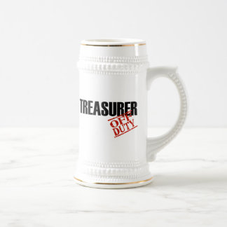 TESORERO FUERA DE SERVICIO TAZA DE CAFÉ