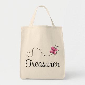 Tesorero rosado lindo bolsa