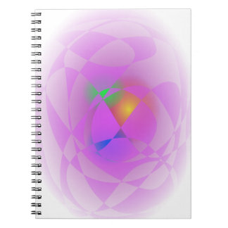 Tesoro de encargo del color de fondo libro de apuntes