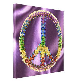 Tesoro de la paz impresiones en lienzo estiradas