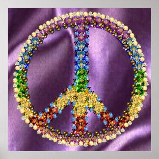 Tesoro de la paz poster