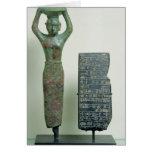 Tesoro del rey del Amar-Pecado de Ur, c.2040 A.C. Tarjeta De Felicitación