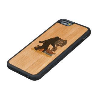 Tesoro enterrado Fer ido de Squatchin Funda De iPhone 6 Bumper Cerezo