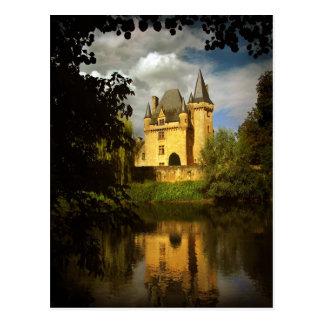Tesoro francés (Chteau de Clrans, Prigord) Tarjetas Postales