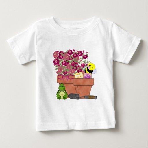 Tesoros del jardín tee shirt