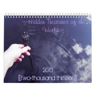 Tesoros ocultados del calendario de mundo 2013