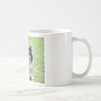 Tess Classic White Coffee Mug