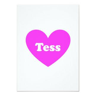 """Tess Invitación 5"""" X 7"""""""