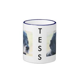 Tess - Labrador negro Photo-3 Taza De Café