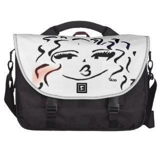 tess pink messenger bag commuter bags