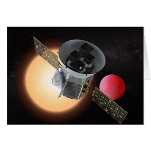 TESS Planet Hunter Spacecraft