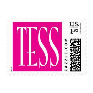 tess sello postal