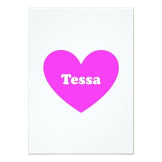 """Tessa Invitación 5"""" X 7"""""""
