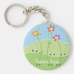 Tessa's Keys Spring Design Key Chains