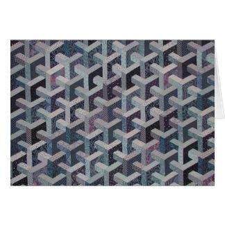 Tesselation Quilt Card