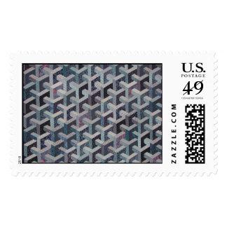Tesselation Quilt Stamp