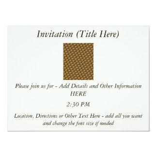 Tessellated Heart Pattern Design Card