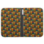 Tessellated Heart Pattern Design Kindle Keyboard Covers