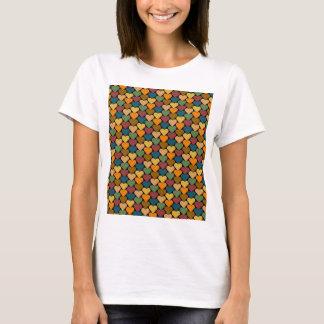 Tessellated Heart Pattern Design T-Shirt