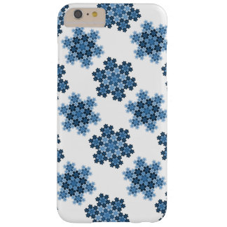Tessellated Koch Snowflakes Barely There iPhone 6 Plus Case
