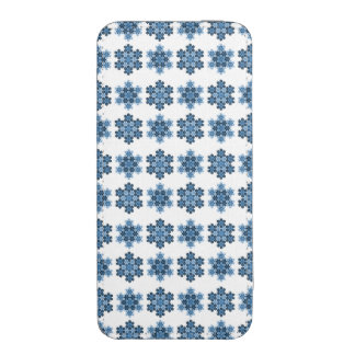 Tessellated Koch Snowflakes iPhone 5 Pouch