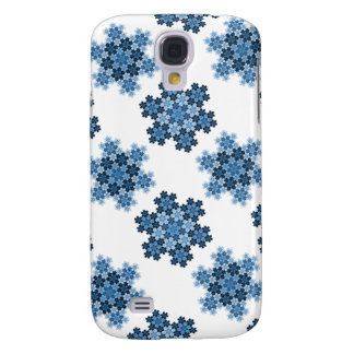 Tessellated Koch Snowflakes Galaxy S4 Case