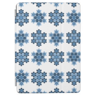 Tessellated Koch Snowflakes iPad Air Cover