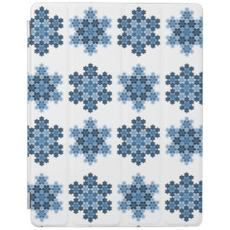 Tessellated Koch Snowflakes iPad Smart Cover