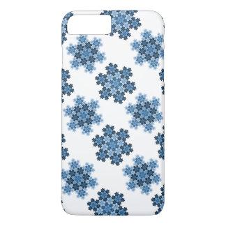 Tessellated Koch Snowflakes iPhone 8 Plus/7 Plus Case