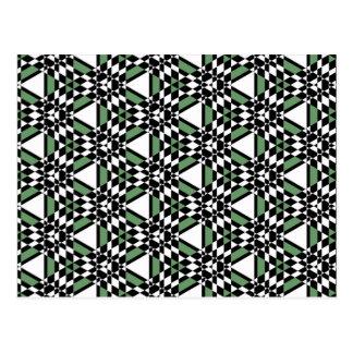 Tessellation 312 C Lg Any Color Postcard