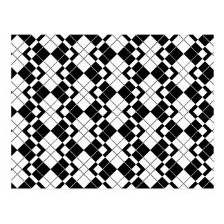 Tessellation 343 A Lg Any Color Postcard