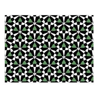Tessellation 39 A Lg Any Color Postcard