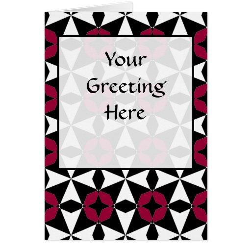 Tessellation 42 B LG cualquier tarjeta de felicita