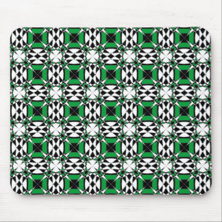 Tessellation 4 B Lg Any Color Mouse Pad