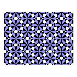 Tessellation 61 Lg Any Color Postcard