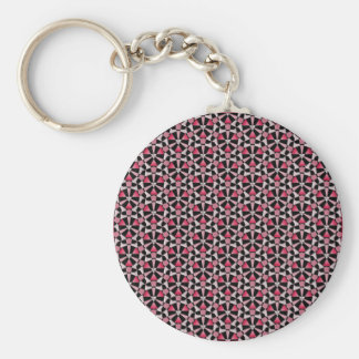 Tessellation 639 Lg Any Color Keychain