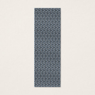 Tessellation 639 Sm Any Color Bookmark Mini Business Card