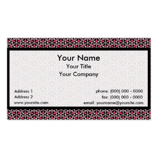 Tessellation 639 Sm Any Color Business Card