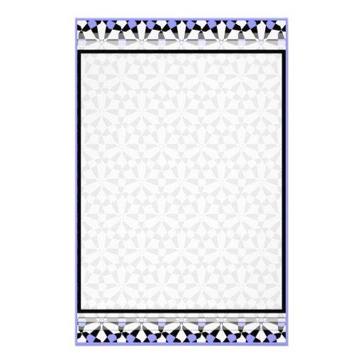 Tessellation 69 B LG cualquier color inmóvil Papelería De Diseño