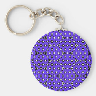 Tessellation Appollonian 61 Lg Any Color Keychain