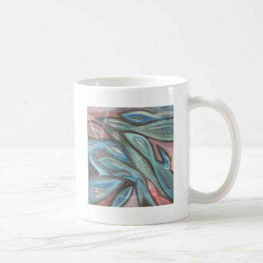Tessellation del lagarto taza