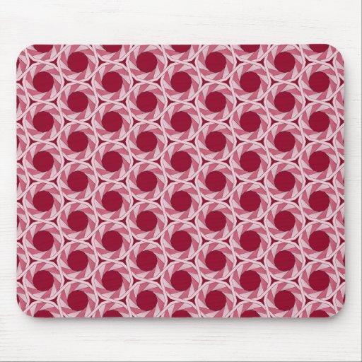 Tessellation espiral 312C LG cualquier cojín de ra Alfombrillas De Ratón
