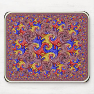 Tessellation hiperbólico del dinosaurio tapetes de raton