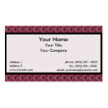 Tessellation Lg Phi 482B Sm Any Color Business Car Business Card Templates