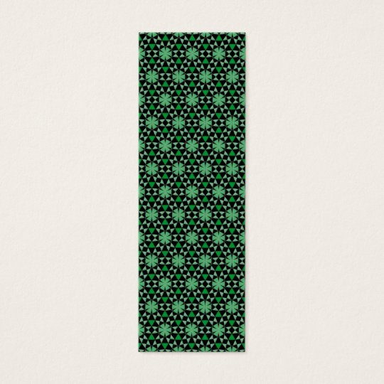 Tessellation Original Phi Sm Any Color Bookmark Mini Business Card