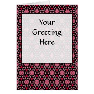 Tessellation Original Phi Sm Any Color Greeting Ca Card