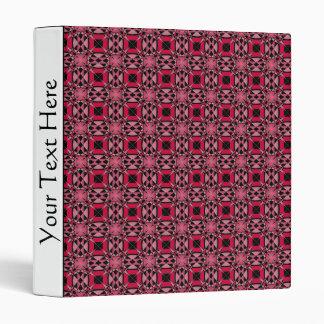Tessellation Pattern 4B Lg Any Color Binder